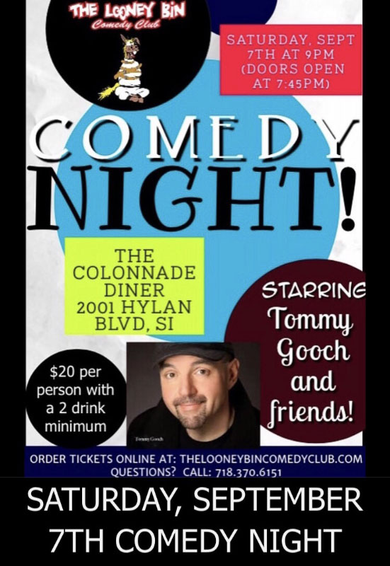 Tommy Gooch - Stand-Up Comedian